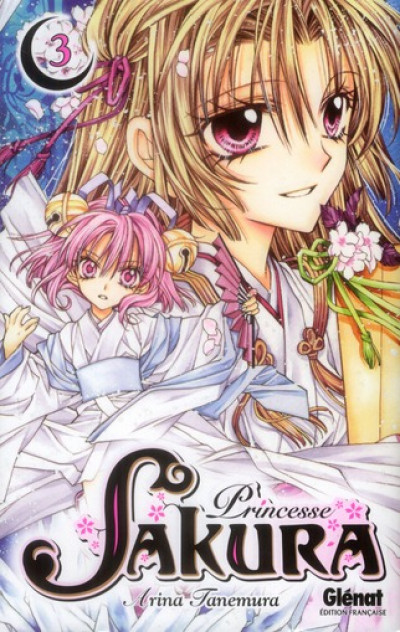 Couverture princesse Sakura tome 3