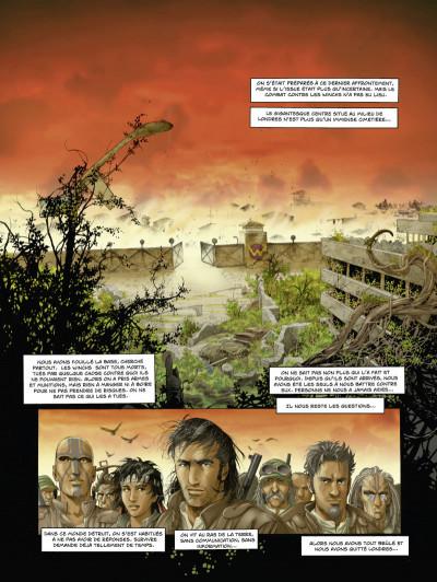 Page 1 la zone tome 4 - traversée