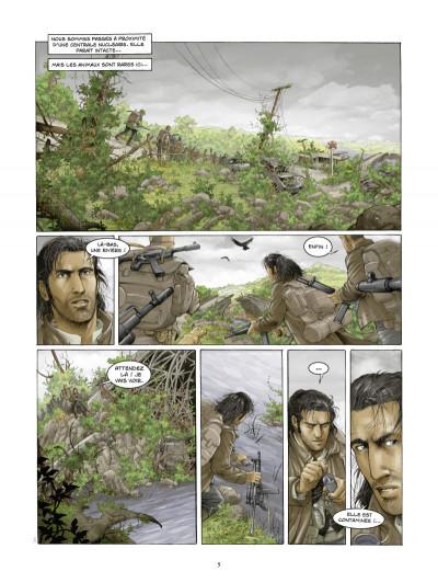 Page 3 la zone tome 4 - traversée