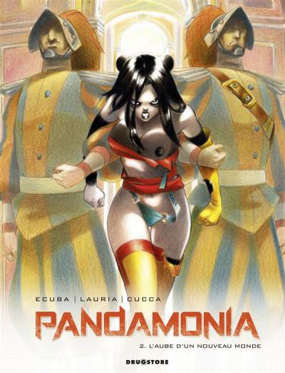 Couverture pandamonia tome 2 - l'aube d'un nouveau monde