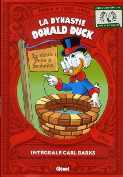 Couverture la dynastie Donald Duck tome 6 - 1955-1956