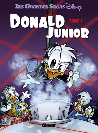 Couverture Donald junior tome 1
