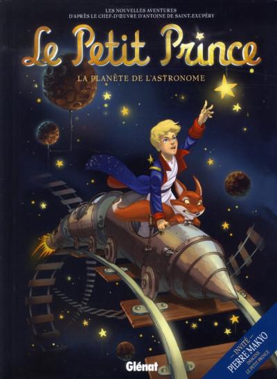 Couverture le petit prince tome 5 - la planète de l'astronome