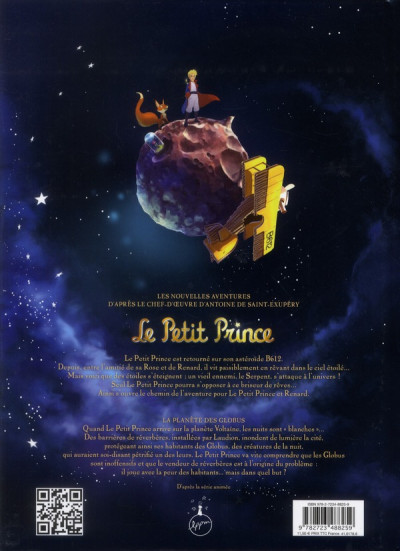 Dos le petit prince tome 6 - la planète des globus