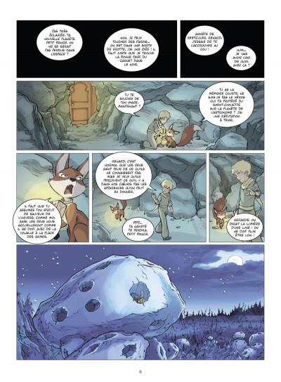 Page 3 le petit prince tome 6 - la planète des globus