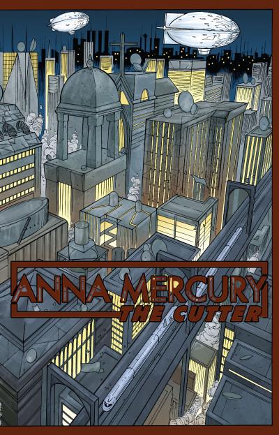 Page 3 Anna Mercury tome 1 - sur le fil du rasoir