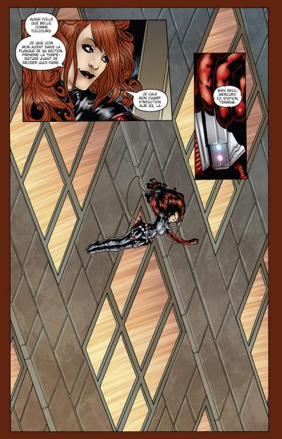 Page 4 Anna Mercury tome 1 - sur le fil du rasoir