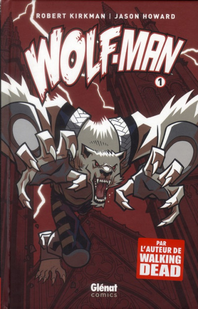 Couverture wolf-man tome 1