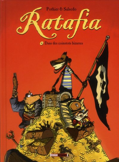 image de Ratafia tome 4 - dans des coinstots bizarres