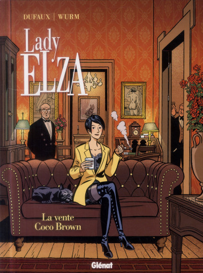 Couverture Lady Elza tome 2
