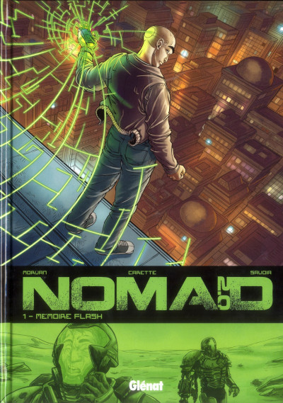 Couverture nomad 2.0 tome 1