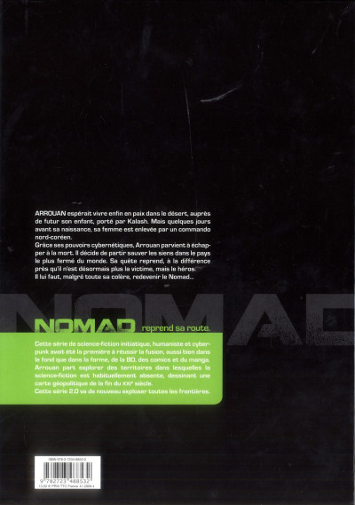 Dos nomad 2.0 tome 1