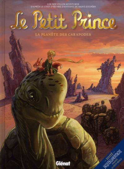 image de le petit prince tome 8 - la planète des Caropodes