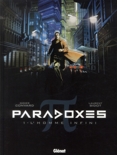 Couverture paradoxes tome 1 - l'homme infini