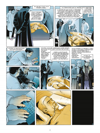 Page 3 paradoxes tome 1 - l'homme infini