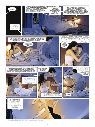 Page 4 paradoxes tome 1 - l'homme infini