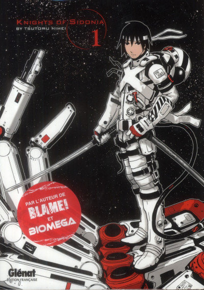 Couverture knights of Sidonia tome 1