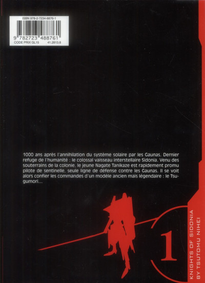 Dos knights of Sidonia tome 1