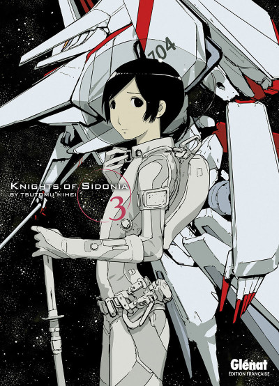 Couverture knights of Sidonia tome 3