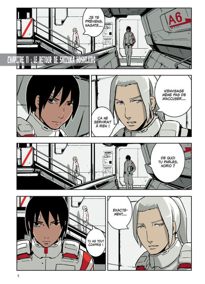 Page 2 knights of Sidonia tome 3