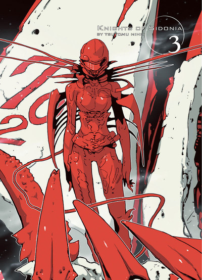 Page 4 knights of Sidonia tome 3