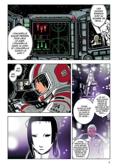 Page 5 knights of Sidonia tome 3