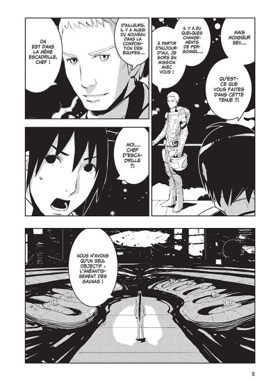Page 3 knights of Sidonia tome 4