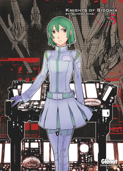 Couverture knights of Sidonia tome 5