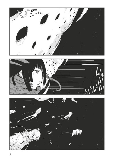 Page 6 knights of Sidonia tome 5