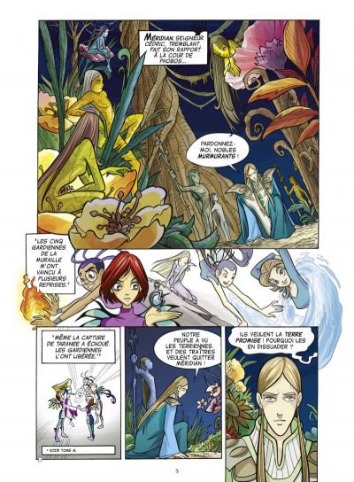 Page 1 Witch tome 6 - illusion et mensonges