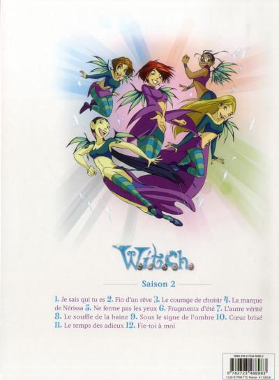 Dos Witch - saison 2 tome 1 - je sais qui tu es