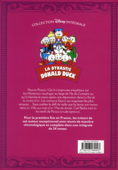 Dos la dynastie Donald Duck tome 8 - 1957-1958