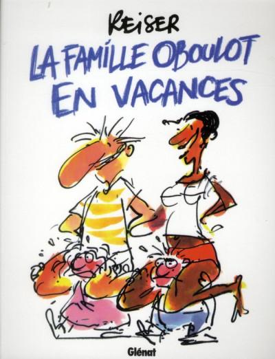 Couverture la famille Oboulot en vacances