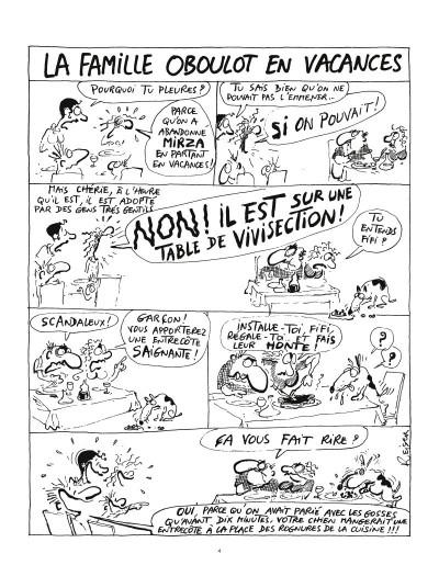 Page 2 la famille Oboulot en vacances