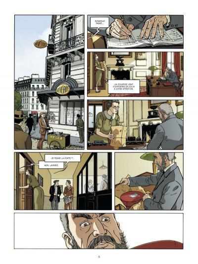 Page 3 Les mystères de la troisième République tome 1 - les démons des années 30