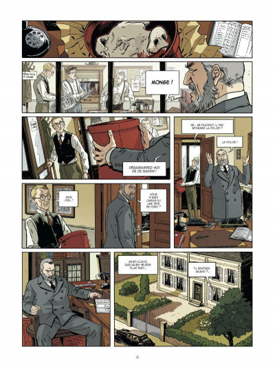 Page 4 Les mystères de la troisième République tome 1 - les démons des années 30