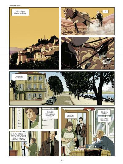 Page 3 les mystères de la quatrième République tome 1 - les résistants de septembre
