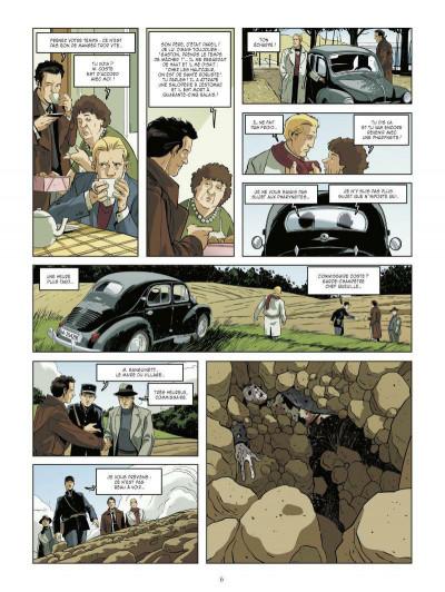 Page 4 les mystères de la quatrième République tome 1 - les résistants de septembre
