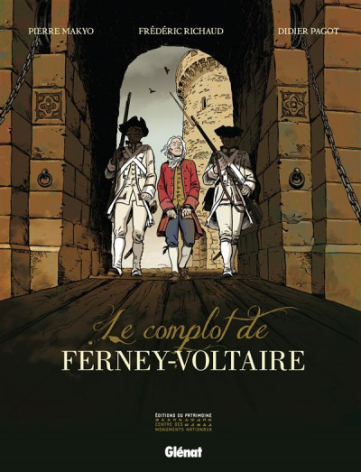 Couverture le complot de Ferney-Voltaire