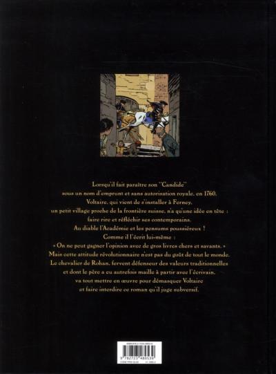 Dos le complot de Ferney-Voltaire
