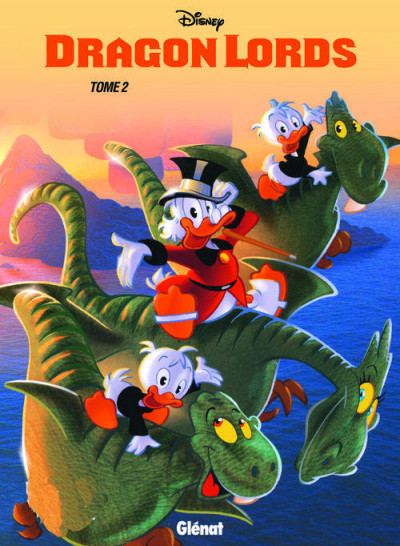 Couverture Mickey - dragon lords tome 2