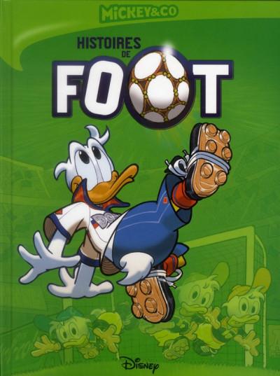 Couverture histoires de foot
