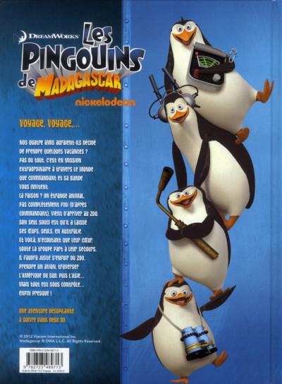 Dos les pingouins de Madagascar tome 2 - merveilles des Antipodes 2