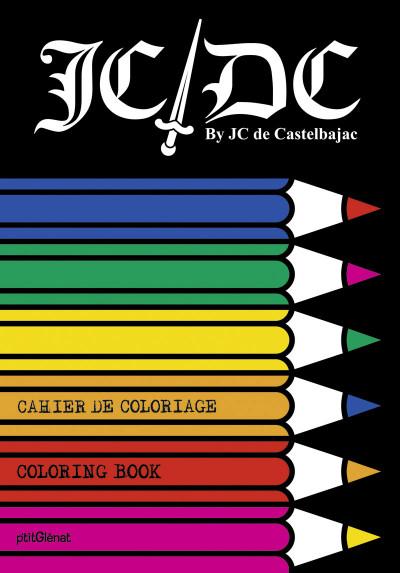 image de cahier de coloriage jcd castelbajac