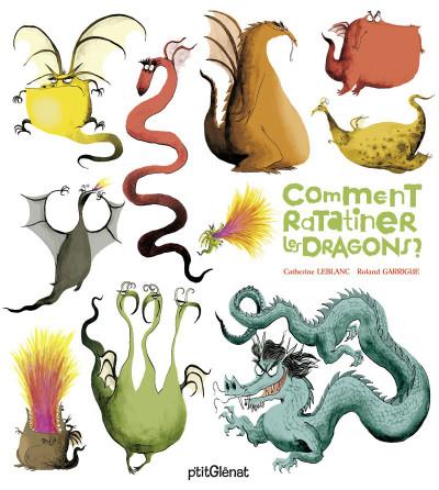 Couverture comment ratatiner les dragons
