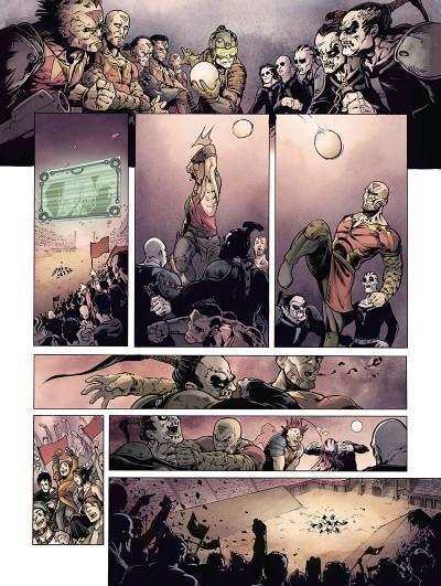Page 4 Le cycle de Nibiru tome 1 - La Loi du sang