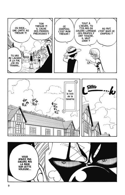 Page 0 one piece tome 2 - Luffy versus la bande à Baggy !!