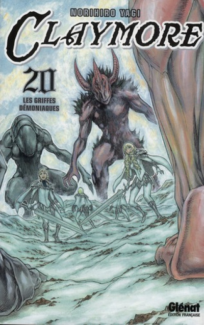 Couverture Claymore tome 20