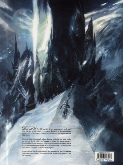 Dos Siberia 56 tome 1