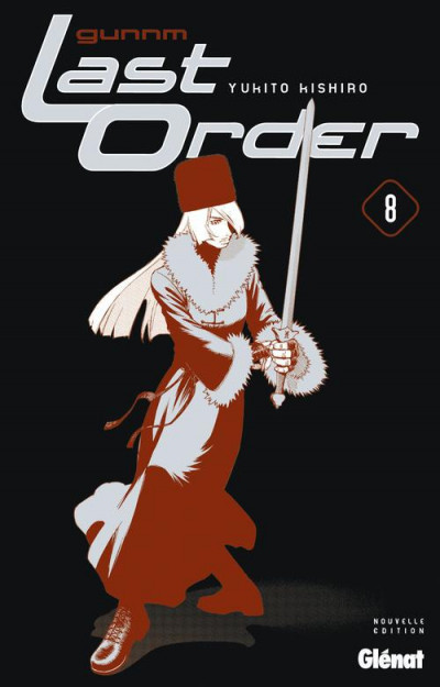 Couverture Gunnm last order tome 8